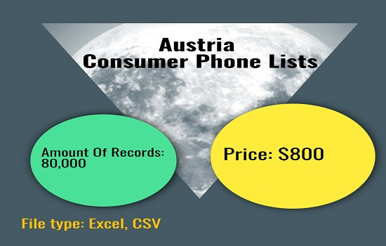 Austria Consumer phone list
