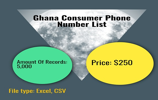 Ghana Consumer Phone Number List