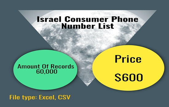Israel Consumer Phone Number List
