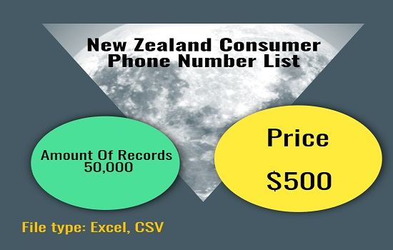 New Zealand Consumer Phone Number List