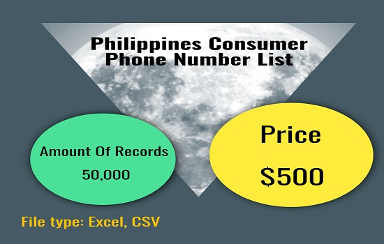 Philippines consumer phone number list