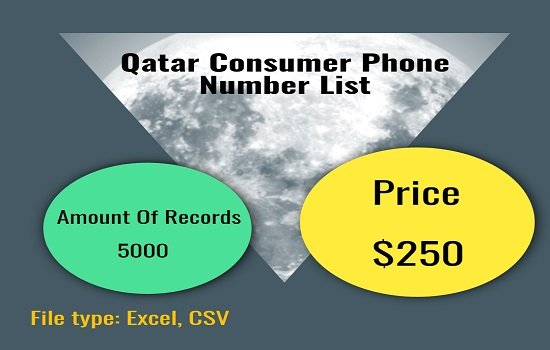 Qatar Consumer Phone Number List