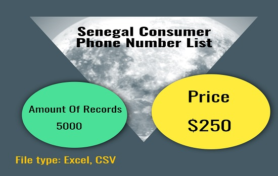 Senegal Consumer Phone Number List