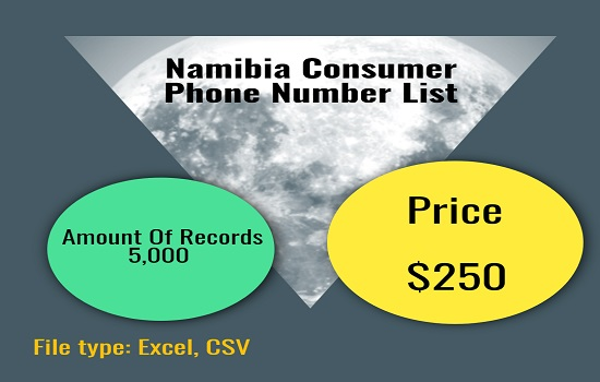 Namibia Consumer Phone Number List