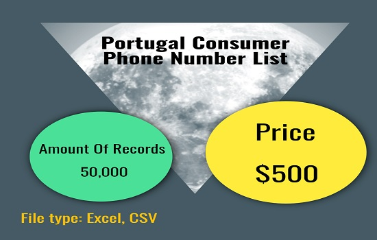 Portugal Consumer Phone Number List